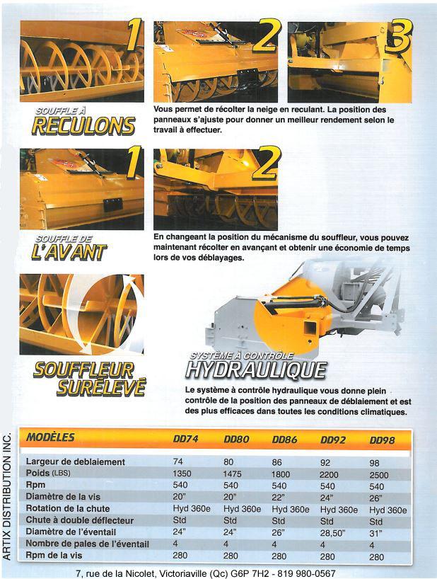 Brochure - Souffleuse Bidirectionnelle